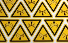 EF - Etiquetas autocolantes Perigo