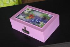 Autocolante para caixa florais saint germain 02