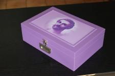 Autocolante para caixa florais saint germain 01