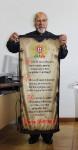 Impressao em tecido hino de portugal - comendador eduardo reis